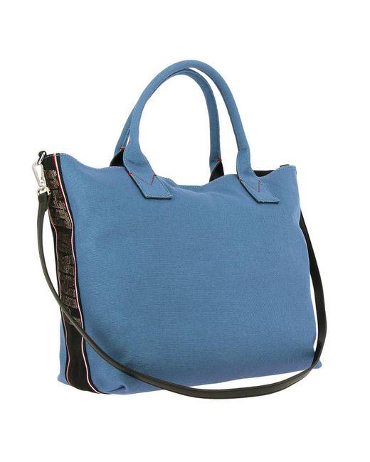 Femme Coloris Bleu Porté Épaule Sac De Main Tl13FJcK