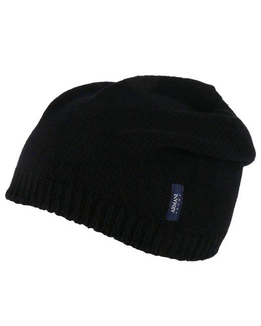 Armani Jeans   Black Hat Men for Men   Lyst