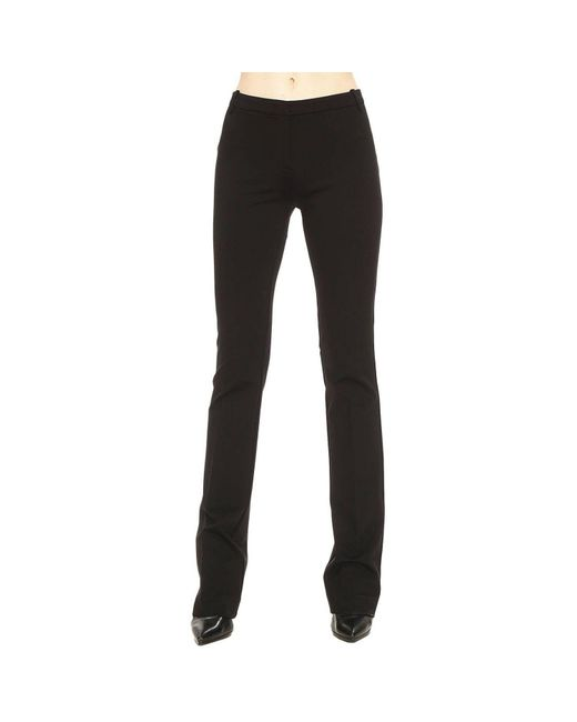 Pinko - Black Pants Women - Lyst
