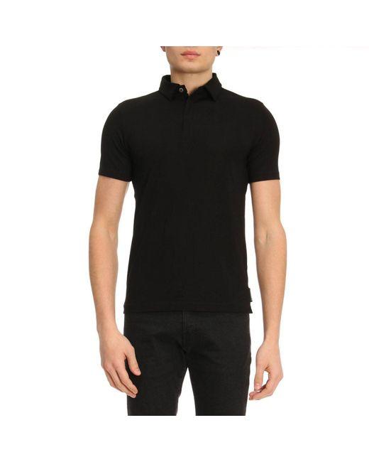 Emporio Armani - Black T-shirt Men for Men - Lyst