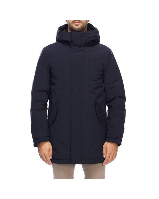 Woolrich - Blue Jacket Men for Men - Lyst