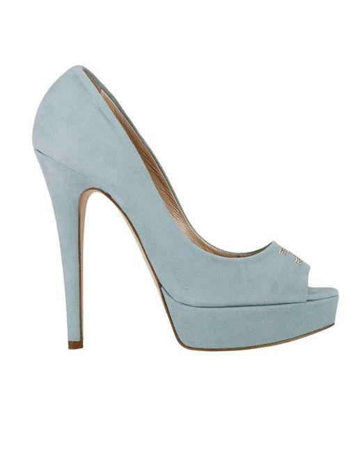 Elisabetta Franchi | Blue Shoes Women | Lyst