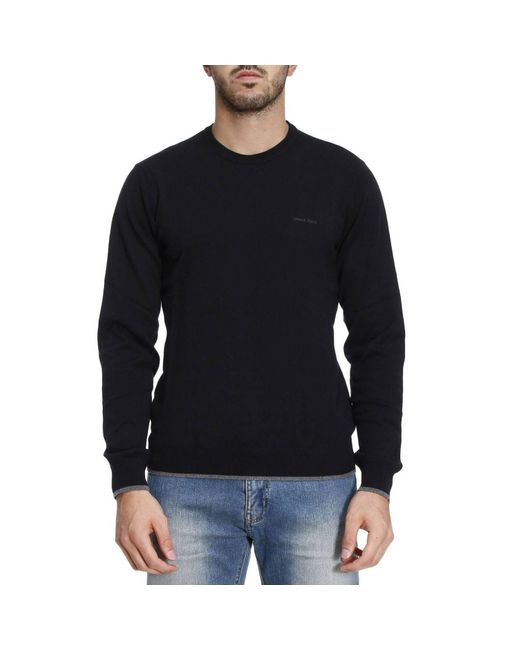 Armani Jeans   Black Sweater Men for Men   Lyst
