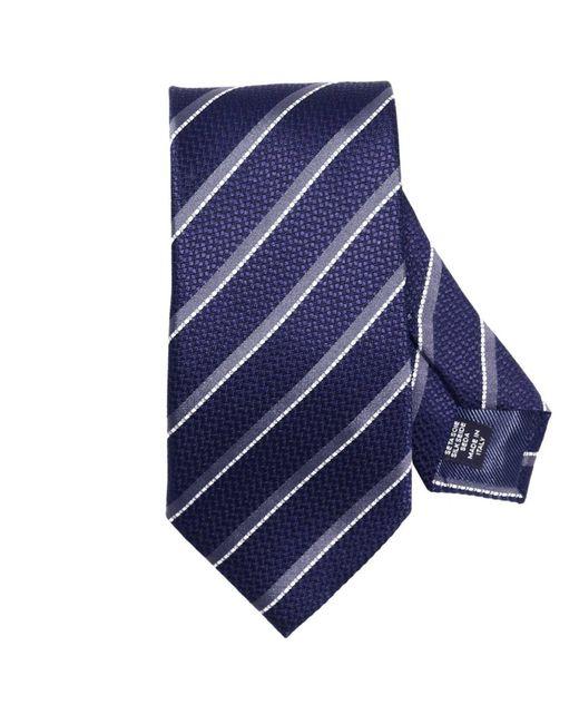 Ermenegildo Zegna | Blue Tie Men for Men | Lyst