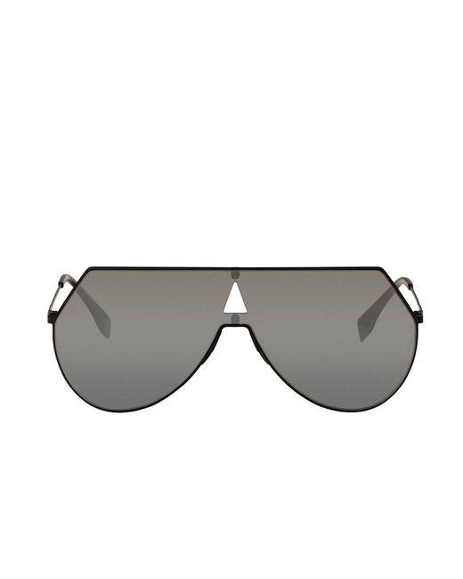 575e5055c2f ... Fendi - Metallic Sunglasses Women - Lyst