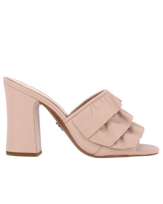 MICHAEL Michael Kors - Pink Heeled Sandals Shoes Women - Lyst