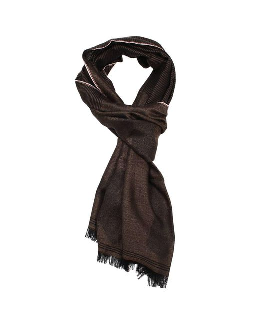 Isaia | Brown Scarf Men for Men | Lyst