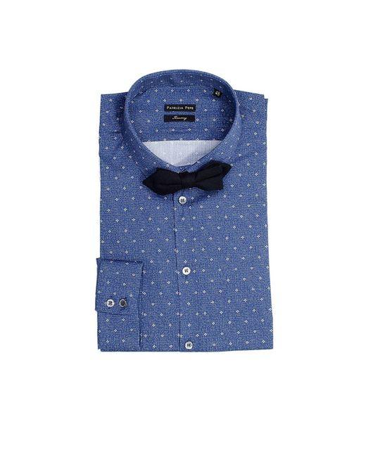 Patrizia Pepe - Blue Men's Shirt for Men - Lyst