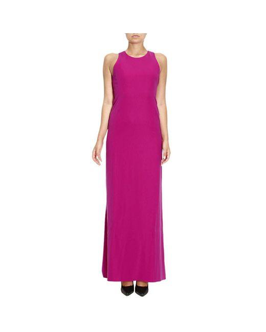 Armani - Purple Dress Women - Lyst