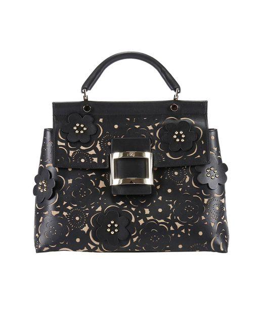 Roger Vivier   Black Handbag Women   Lyst