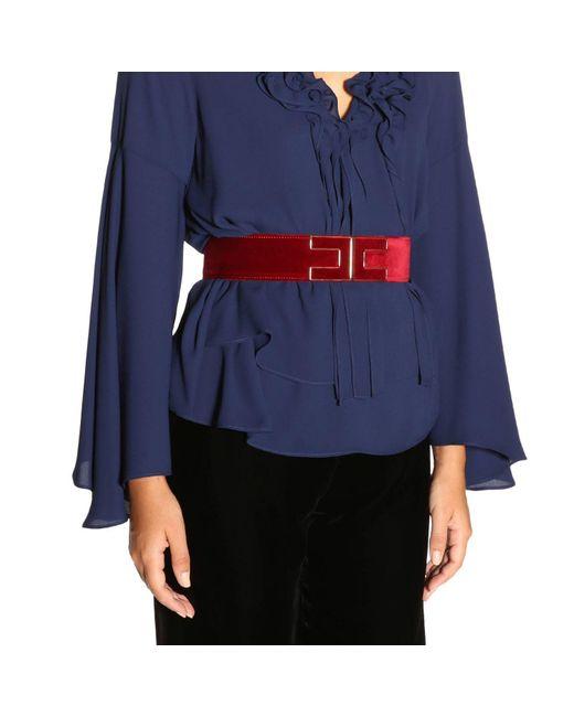 Elisabetta Franchi - Red Belt Women - Lyst