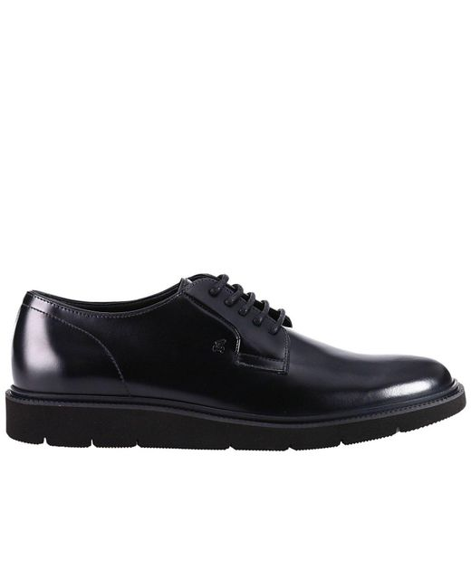 Hogan | Black Shoes Men for Men | Lyst