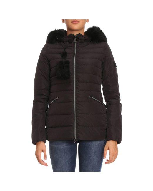 Peuterey - Black Jacket Women - Lyst