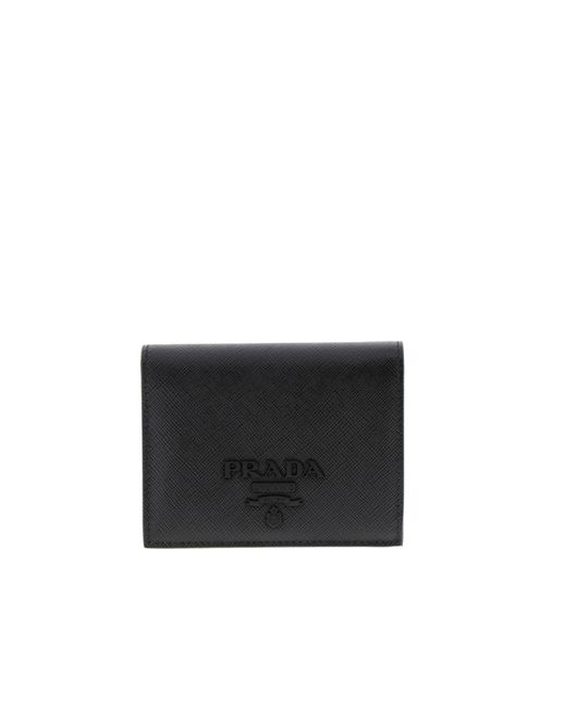 Prada - Black Wallet Women - Lyst
