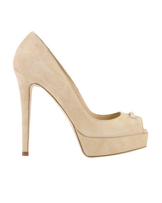 Elisabetta Franchi | Natural Pumps Shoes Women | Lyst