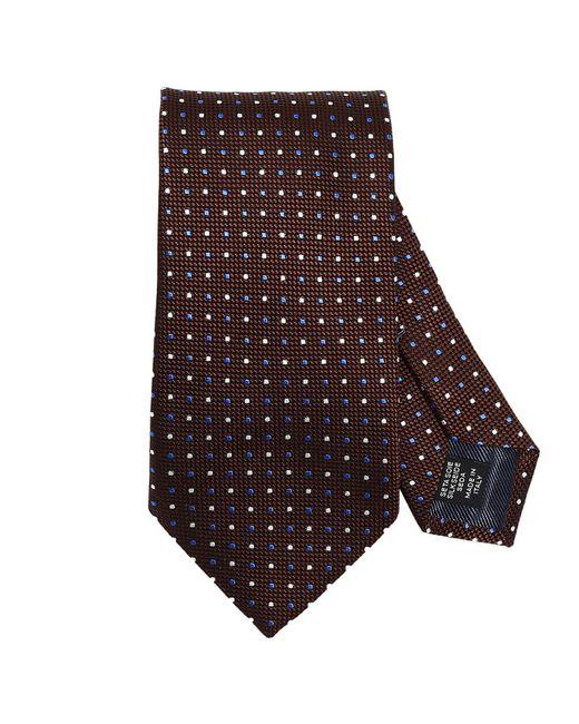 Ermenegildo Zegna   Brown Tie Men for Men   Lyst