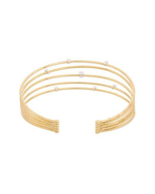 Marco Bicego - Metallic Luce 18k Yellow Gold .28 Ct. Tw. Diamond Bangle - Lyst