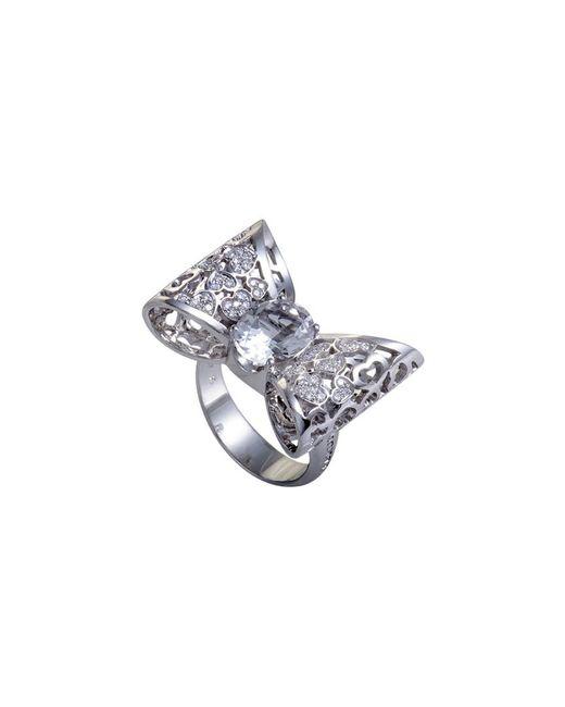 Pasquale Bruni - Metallic 18k 0.30 Ct. Tw. Diamond & Topaz Ring - Lyst