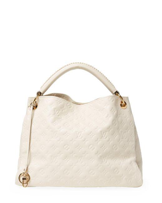 Louis Vuitton - Vintage White Empriente Artsy Mm Bag - Lyst