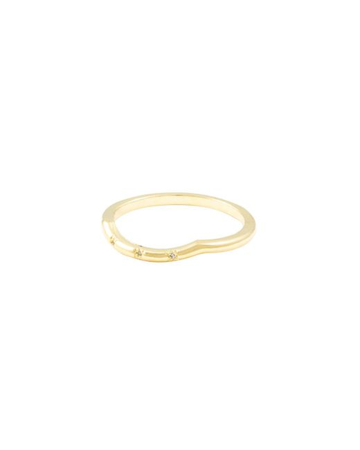 Vanessa Mooney - Metallic Darling Triple Cz Single Ring - Lyst