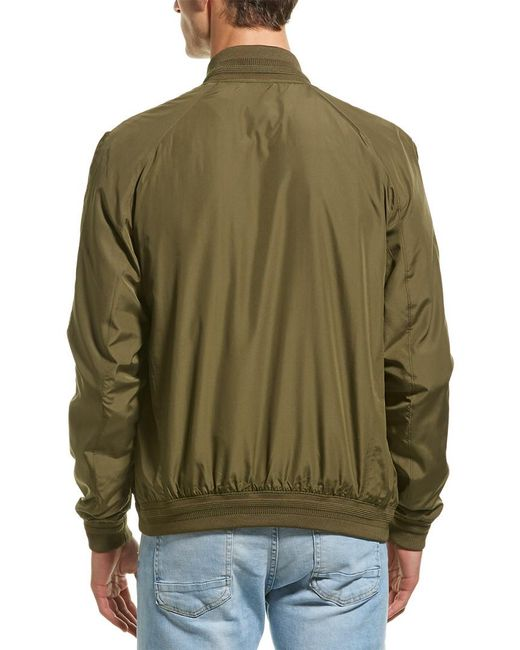 3970cacd1 J.Lindeberg J.lindeberg Thom Gravity Bomber Jacket in Green for Men ...
