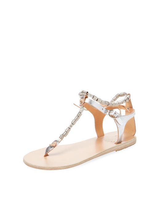 Ancient Greek Sandals - Multicolor Chrysso Beaded Thong Sandal - Lyst