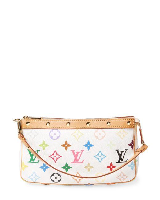 Louis Vuitton - Vintage White Multi Ab Pochette Bag - Lyst