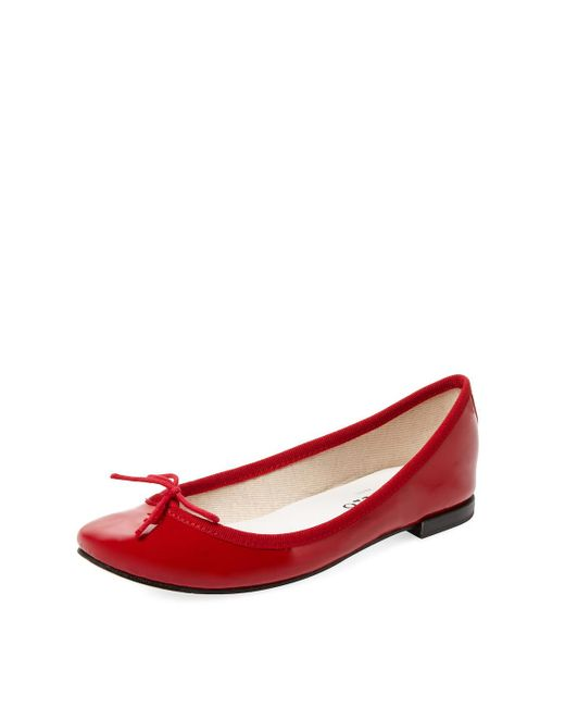 Repetto - Red Cendrillon Patent Ballet Flat - Lyst