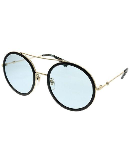 Gucci - Multicolor Women's Round 56mm Sunglasses - Lyst