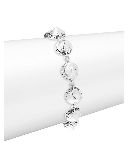 Lois Hill - Metallic Round Stud Bracelet - Lyst