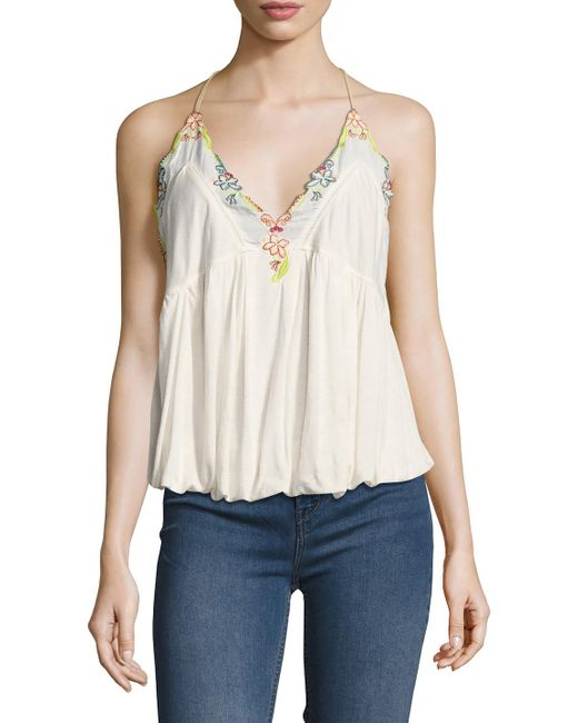 Free People | White Island Time Top | Lyst