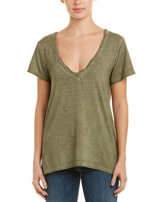 Pam & Gela - Green Overdyed T-shirt - Lyst