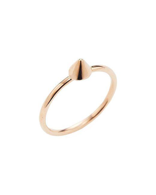 Sydney Evan - Metallic Gold-tone Spike Size 6.5 Ring - Lyst