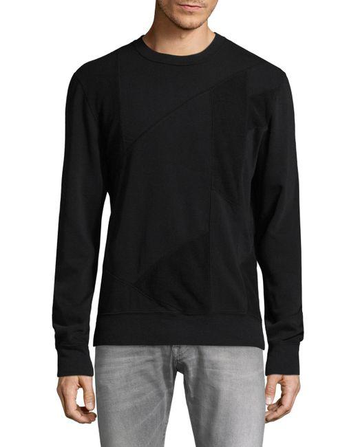 BLK DNM - Black 61 Patch Crewneck Sweatshirt for Men - Lyst