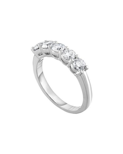 Diana M - Metallic Bridal Collection 18k 1.70 Ct. Tw. Diamond Ring - Lyst