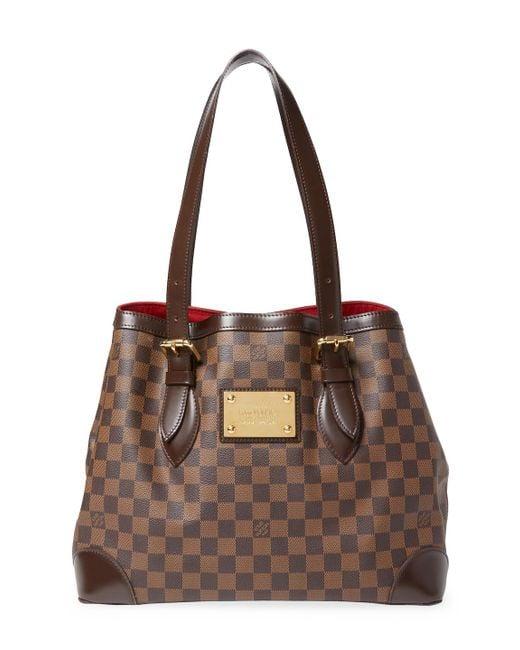 Louis Vuitton - Brown Vintage Dmr Ebene Ab Hampstead Mm Bag - Lyst
