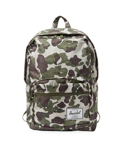 Herschel Supply Co. - Green Pop Quiz Backpack - Lyst ... f70e9b1b90d2e