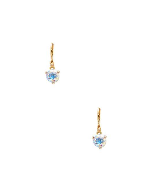 Kate Spade - Blue Leverback Drop Earrings - Lyst