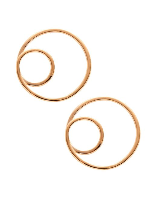 Kate Spade - Multicolor Twisted Hoop Earrings - Lyst