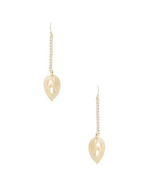 Alexis Bittar - Metallic Lucite Encrusted Liquid Silk Drop Earrings - Lyst