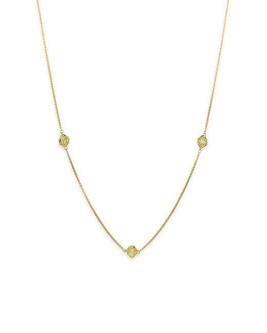 David Yurman - Metallic Infinity Necklace With Diamonds In Gold - Lyst