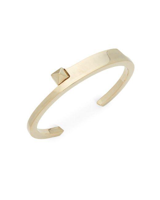 Valentino - Metallic Spike Cuff Bracelet - Lyst