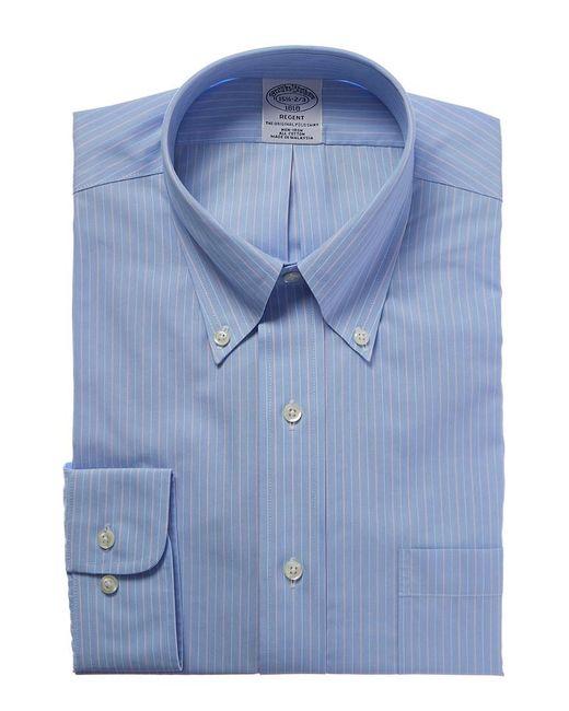 Brooks Brothers - Blue Regent Fit Dress Shirt for Men - Lyst