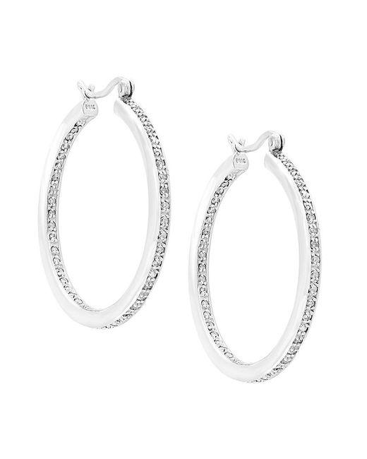 Effy - Metallic Fine Jewelry 14k 1.12 Ct. Tw. Diamond Hoops - Lyst