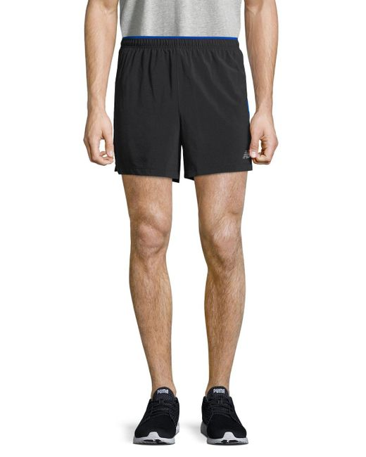 New Balance - Blue Impact Track Shorts for Men - Lyst