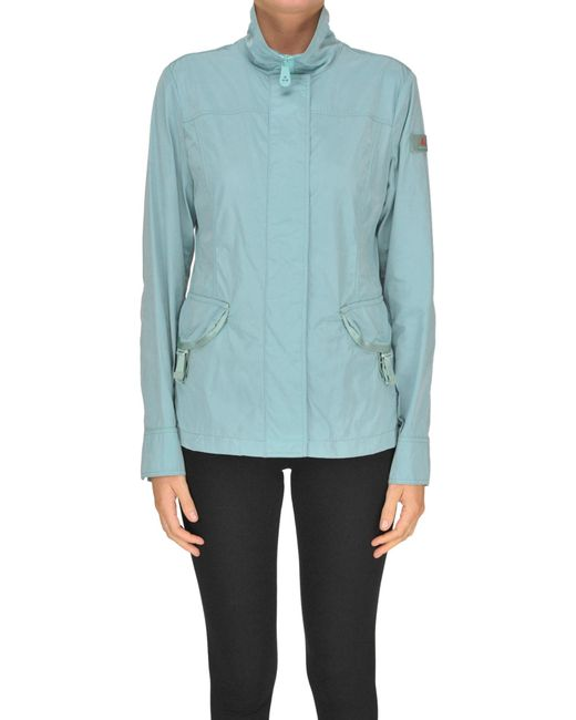 Peuterey - Blue Techno Fabric Jacket - Lyst