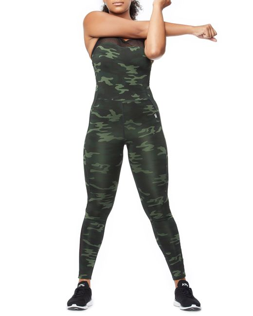 b9f92f5e4283 ... GOOD AMERICAN - Green The Curve Sculpt Jumpsuit - Lyst ...