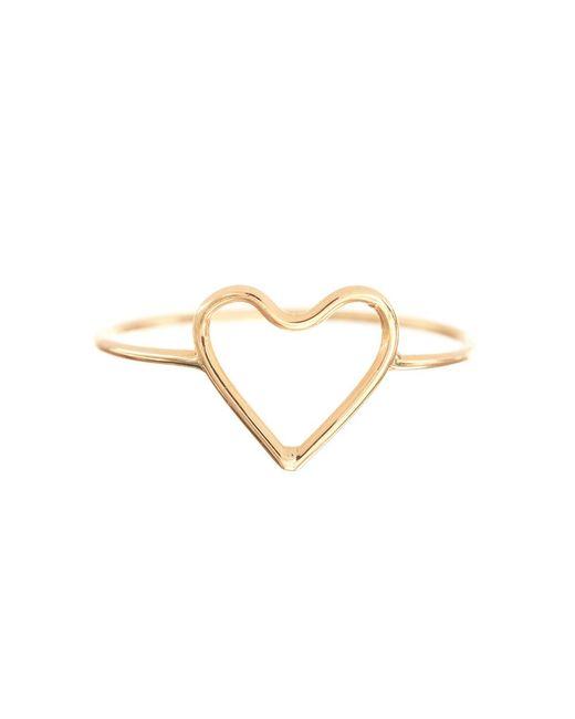 Ariel Gordon - Metallic Silhouette Heart Ring - Lyst