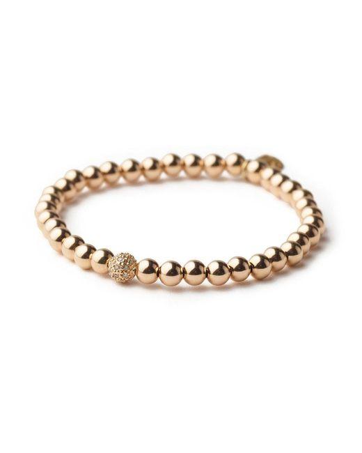 Sheryl Lowe | Metallic Gold Bead Bracelet | Lyst