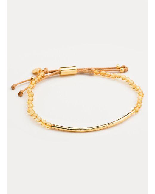 Gorjana & Griffin - Metallic Power Gemstone Citrine Bracelet For Abundance - Lyst